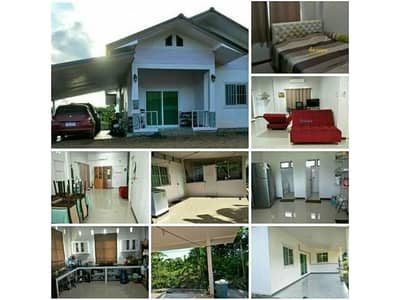 3 Bedroom Home for Sale in Mueang Nong Bua Lam Phu, Nongbualamphu - House for sale in Nong Bua Lam Phu With a title deed of 200 square wah, 3 bedrooms, 2 bathrooms, free furniture.