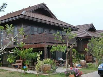 6 Bedroom Home for Sale in Bang Mun Nak, Phichit - Thai style wooden house for sale