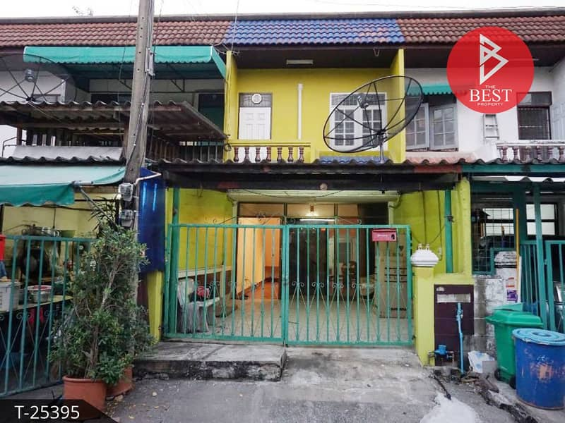 Townhouse for sale Lasalle 36 Sukhumvit 105 Bangna Bangkok ready to move in.