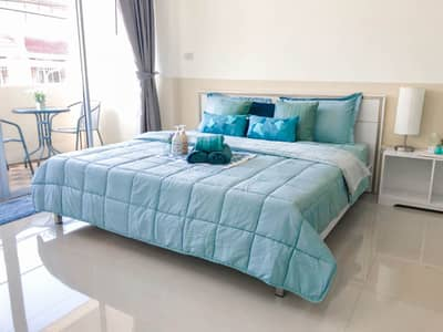 1 Bedroom Apartment for Rent in Bang Lamung, Chonburi - Room for rent, fully furnished, 1 bedroom, Chaiyapruek Road, South Pattaya, near Jomtien Beach