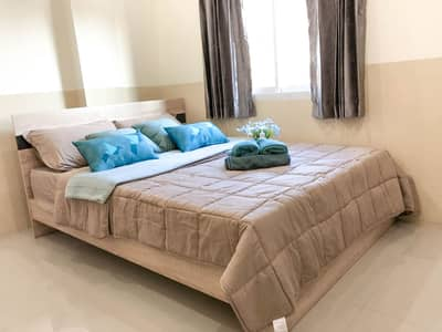 1 Bedroom Apartment for Rent in Bang Lamung, Chonburi - Room for rent with furniture, Chaiyapruek Road, near Jomtien Beach