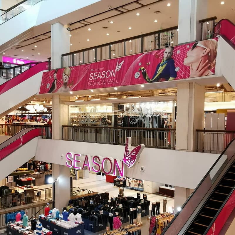 Space for sale in the Seacon Bangkae Department Store
