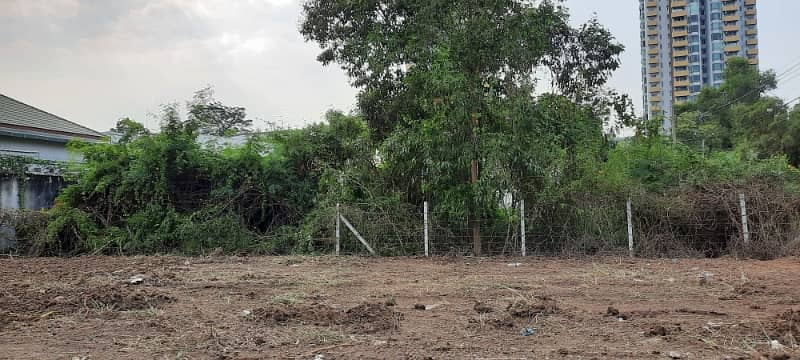 Land for rent in Muang Thong.