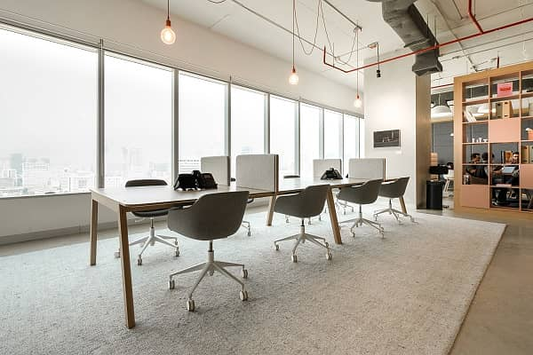 Beautifully designed workspaces to facilitate new connections
