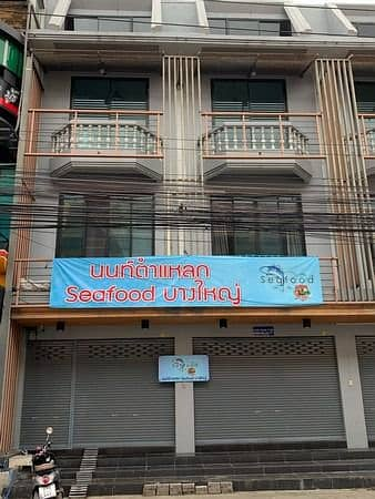 1 Bedroom Apartment for Sale in Bang Yai, Nonthaburi - Selling 3-storey commercial buildings, 2 booths, next to Central Westgate, Bang Yai, Nonthaburi.