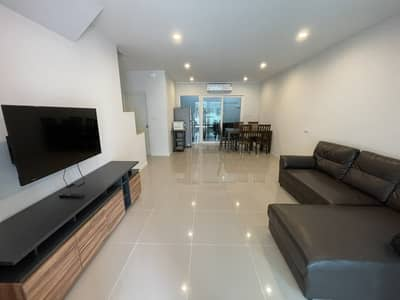 3 Bedroom Townhouse for Rent in Bang Lamung, Chonburi - Townhome for rent Pattaya