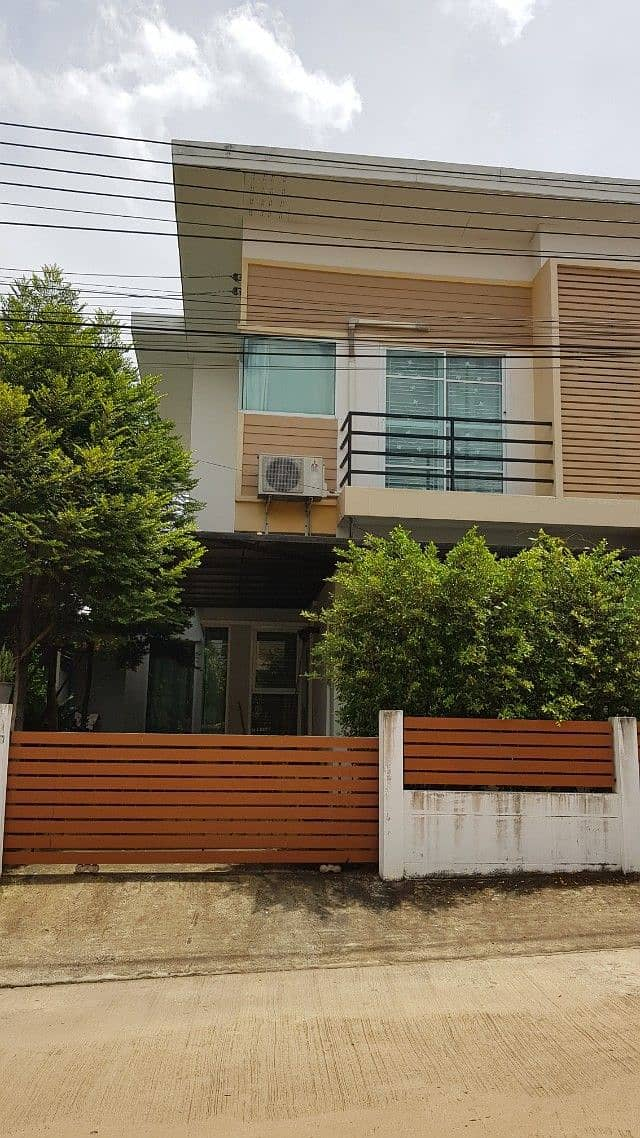 Cheap house for sale 304 Prachin Moo Sirarom Park in front of Tha Tum Subdistrict Administrative Organization