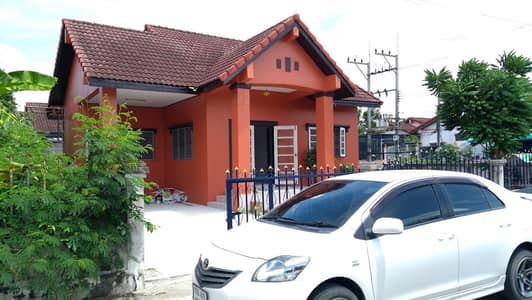 3 Bedroom Home for Rent in Phan Thong, Chonburi - House for rent at Sukkamol Village near Amata Industrial Estate