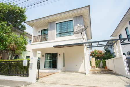3 Bedroom Home for Sale in Bang Bua Thong, Nonthaburi - house for sale Modi , free furnished, all air conditioners are ready.