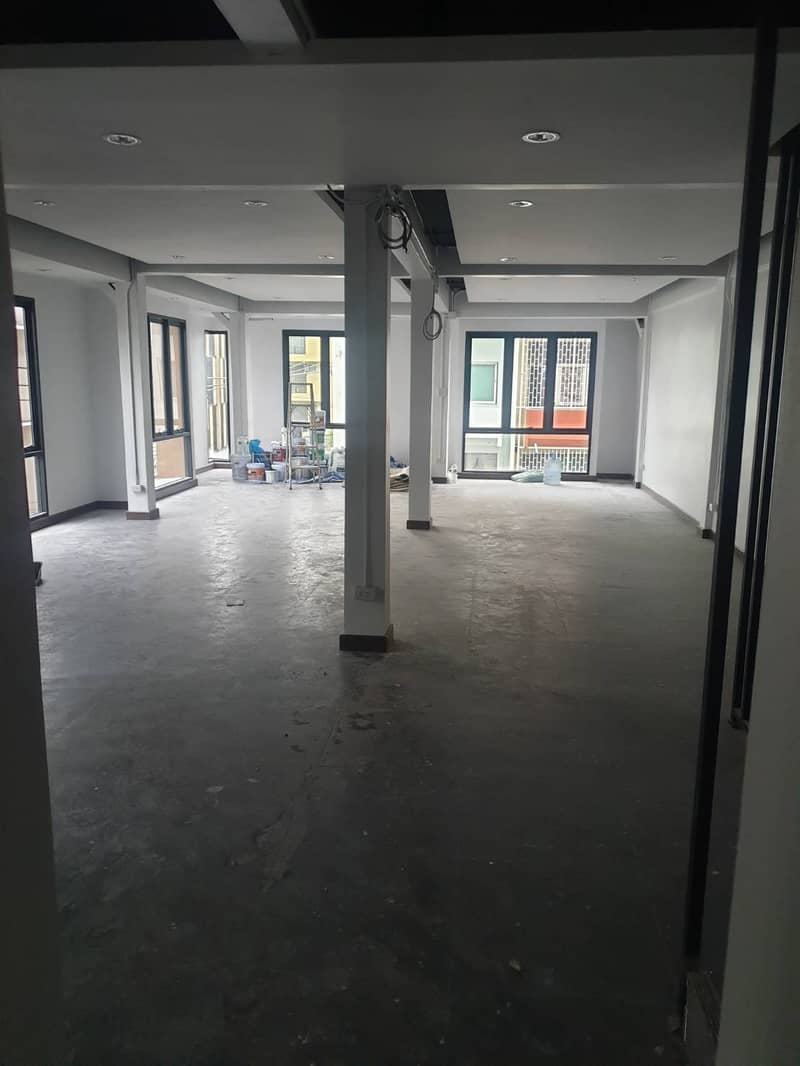 Commercial Building for rent in RAMA 4 available for Office spaces Warehouse size 600 SQM plus5 floor