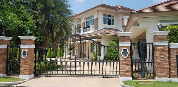 5 Bedroom Home for Sale in Mueang Samut Sakhon, Samutsakhon - Detached house for sale , At The Grand Rama 2 - Island paradise zone.