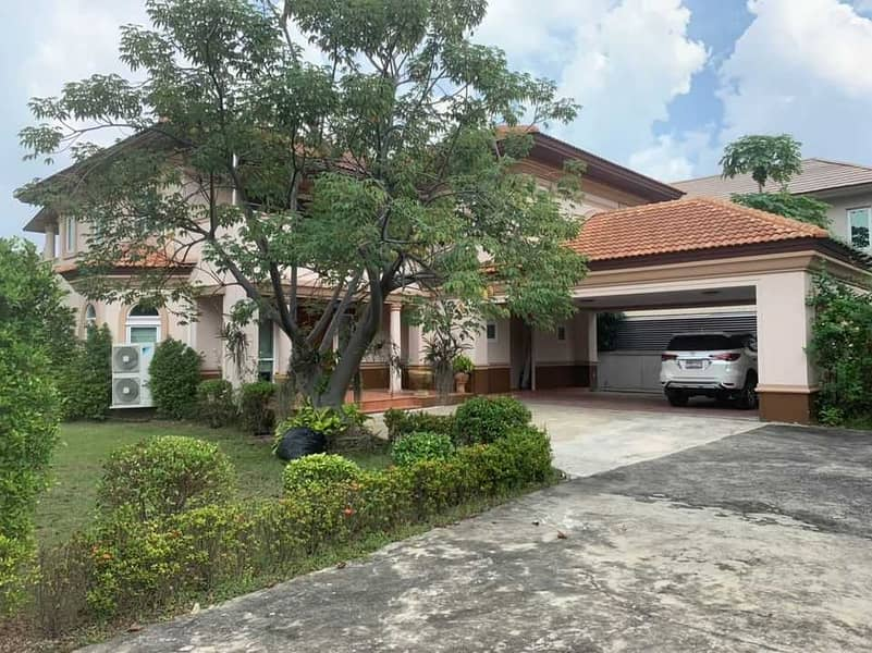 LTH2711 – Single House FOR RENT in Prachachuen 4 beds 4 baths size 450 Sq. M. ONLY 55k/Month