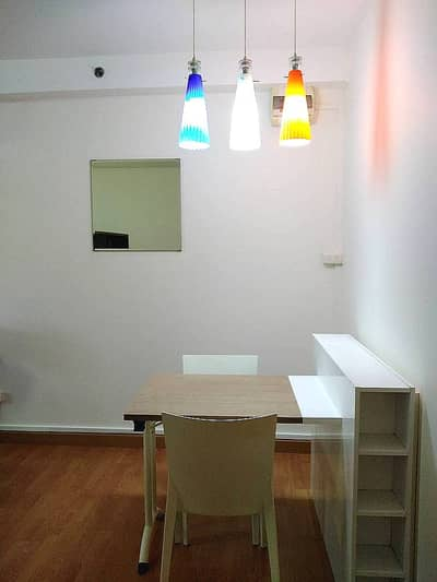 Condo for rent Supalai City Home Sukhumvit 101 Studio room 34 sq m. Front building on the main road, near BTS Udom Suk, only 100 meters, rent 7,500 baht