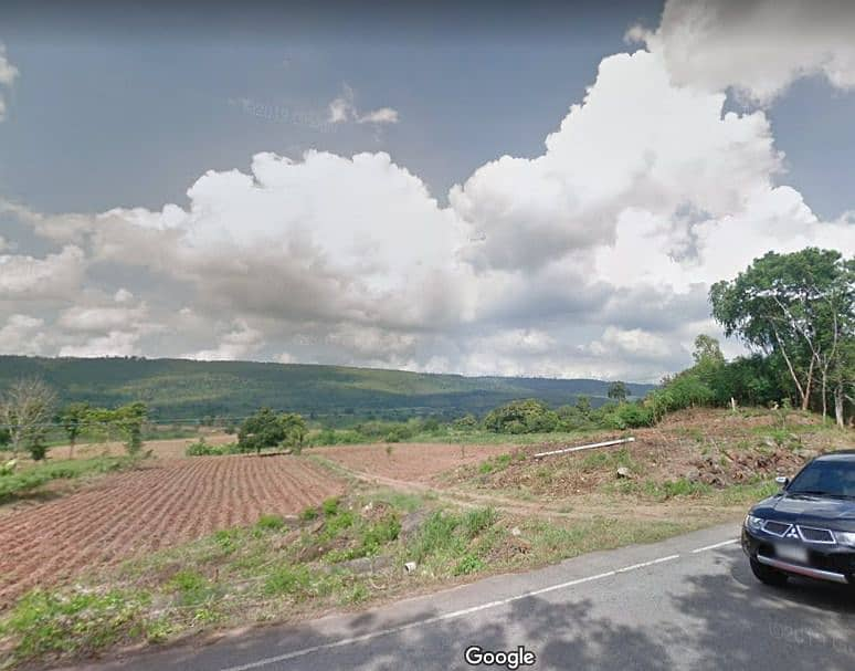 Land for sale, beautiful view in front of him - behind the main paved road.
