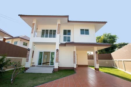 3 Bedroom Home for Sale in Hang Dong, Chiangmai - 3 Bed unfurnished house for sale at Khum Phaya Garden Home