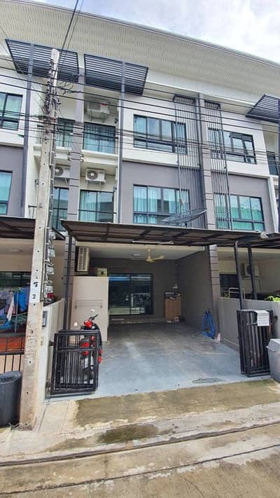 3 Bedroom Home for Sale in Thung Khru, Bangkok - town home 3 floors 3 rooms 4 bathrooms