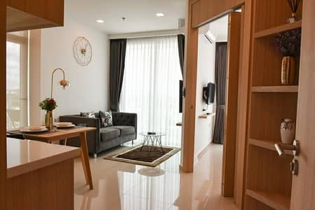 1 Bedroom Condo for Rent in Bang Lamung, Chonburi - Luxury condo for rent, located in the heart of South Pattaya City garden tower
