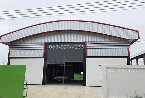 1 rai of land with warehouse and office Completed