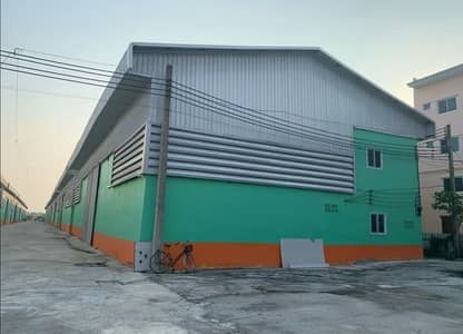Factory for Rent in Thanyaburi, Pathumthani - Warehouse and factory for rent, Rangsit Klong 12, new condition, good location, next to the main road