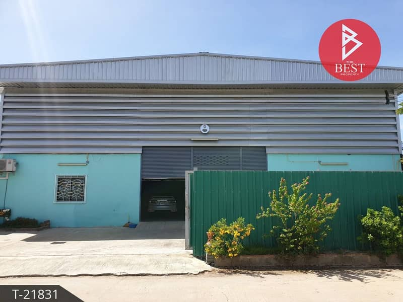 Warehouse for sale with accommodation, 2 jobs, 44 square meters, Bang Bua Thong, Nonthaburi