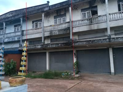 Commercial Building for Sale in Phen, Udonthani - ตึกแถว2คูหาเชื่อมต่อกัน 2.5ชั้น