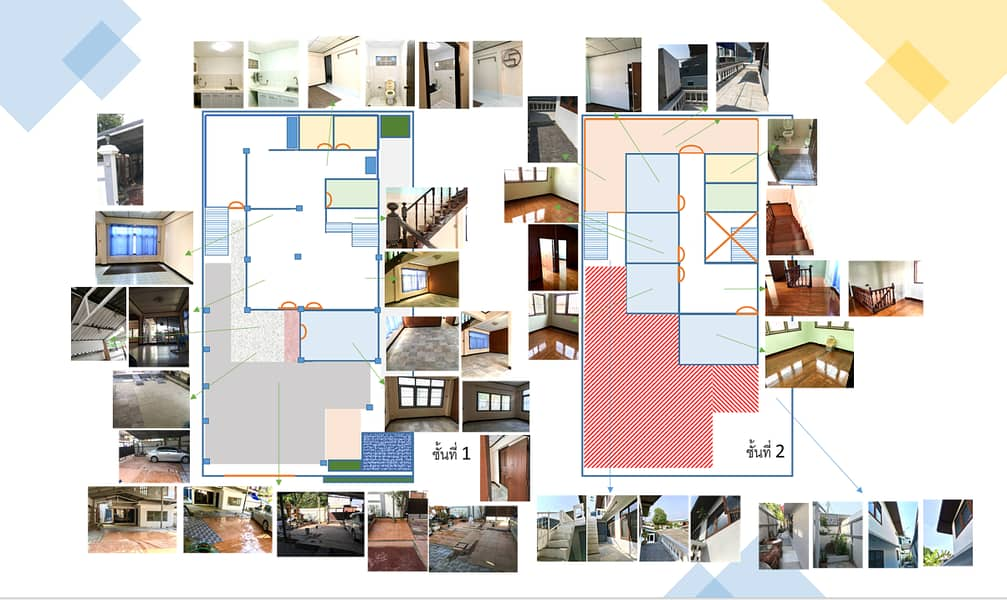 Single house 57 sq m, Pracha Uthit, a lot of usable space