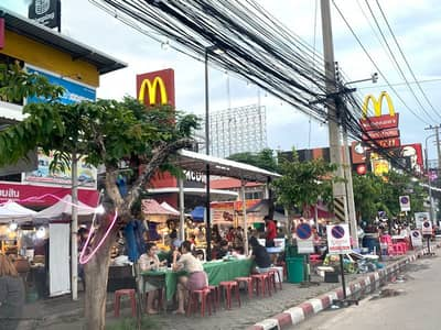 Land for Rent in Mueang Chiang Mai, Chiangmai - Land for rent, very good location - commercial location
