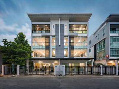 Office for Sale in Bueng Kum, Bangkok - 4 storey modern home office for sale, Biz Galleria, on Nuanchan Road, good location, special discount 2 million baht.