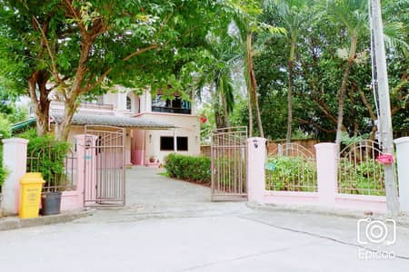 5 Bedroom Home for Rent in Mueang Nonthaburi, Nonthaburi - House for rent Laddarom Rattanathibet (mum nai) 131 wa, 5 beds, next to BTS