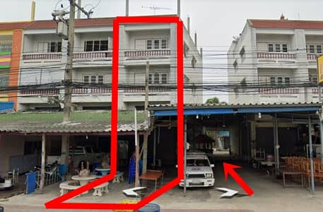 Land for Sale in Bang Phae, Ratchaburi - Shophouse for sale with land behind 111 sq m.