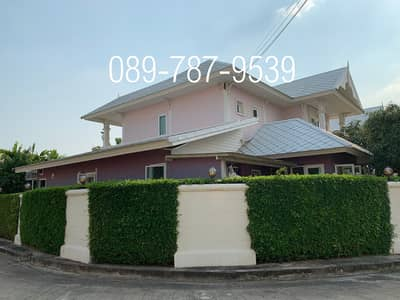 4 Bedroom Home for Sale in Mueang Samut Sakhon, Samutsakhon - Detached house for sale, Sarin City, The Lake Ville, Rama2, area 162 sq. wah