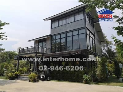 Commercial Space for Sale in Phra Pradaeng, Samutprakan - Restaurant business 344.8 sq. w. near Bang Nam Phueng floating market Soi Phet Hueng 25 Industrial ring road