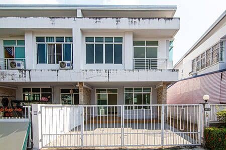 Single house for rent, Pattiya Rama 5, Project 3, 2 floors, size 36 sq m. , Area 128 sq m. 3 bedrooms, 2 bathrooms, new house, special price
