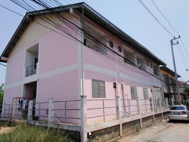 Khon Kaen Dormitory Clean Close friendship Khon Kaen has a car park with wifi, cable, CCTV, easy to find food.