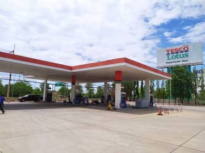 Commercial Space for Sale in Mueang Nakhon Ratchasima, Nakhonratchasima - Esso Korat pump for sale