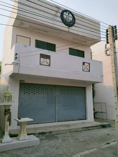 2 Bedroom Home for Sale in Ban Phai, Khonkaen - For Sale - 2-storey building in the middle of the market, Ban Phai District, Khon Kaen Province, behind the Night Bazaar Market (Formerly, Municipal Fresh Market 3)