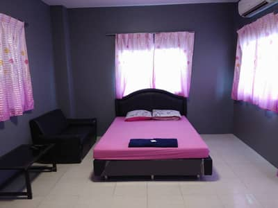 1 Bedroom Apartment for Rent in Bang Bua Thong, Nonthaburi - Monthly room 3,800 baht, convenient, clean, safe