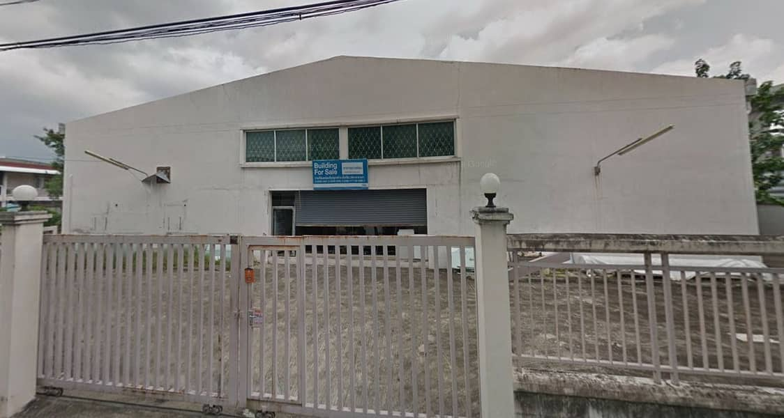 KR142 Single storey warehouse for rent. Wongsawang area, area 562 sq. w. , Soi Bangkok - Non 48, suitable for warehouse, taxi garage, Logistic that accepts old purchases, car garages