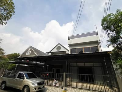 2 Bedroom Home for Rent in Saphan Sung, Bangkok - House for rent, Home Place Ramkhamhaeng 140, completely renovated. Suitable for office