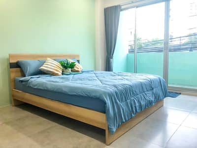 1 Bedroom Apartment for Rent in Bang Lamung, Chonburi - Cozy Stay available for rent with furniture, Chaiyapruek Road, near Jomtien Beach