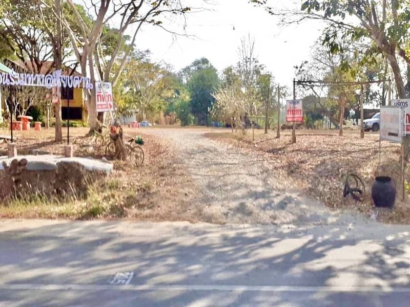 Land for sale in good location. Chiang Khan District, Loei Province