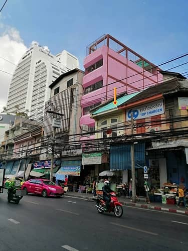 BH_01077 Commercial building for rent on Charoen Krung Road near BTS Saphan Taksin