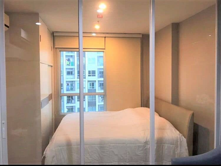 Rent 1 bedroom condo, The Tempo Grand Sathorn-Wutthakat, 24th floor, area 30 square meters, with washing machine.