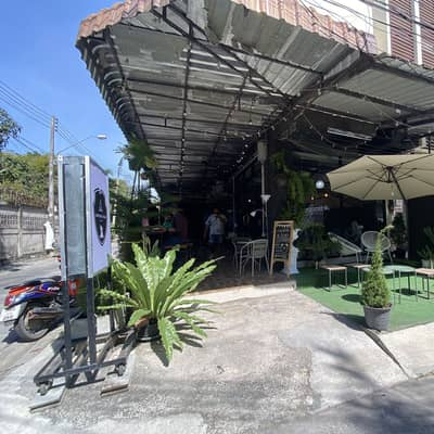 Commercial Space for Rent in Si Racha, Chonburi - Camping bear coffee บางแสน