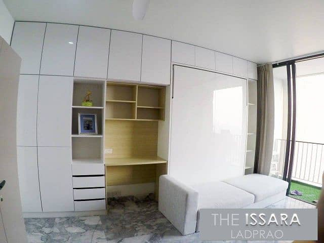 Condo for sale, The Issara Ladprao, The Issara Ladprao, area 34.20 sq. m. , 37th floor, city view, near MRT Ladprao, next to Ladprao Road