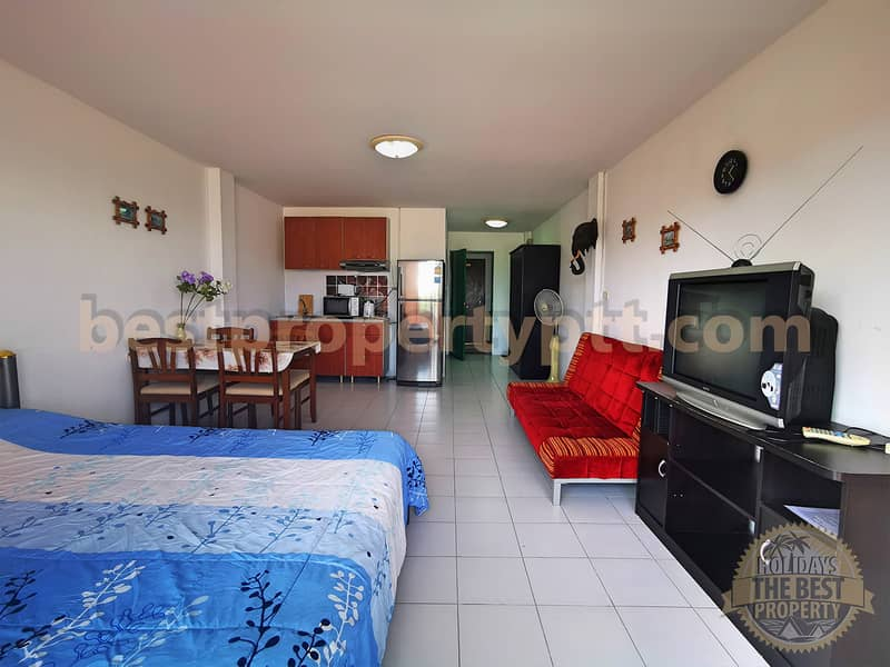 Studio in rayong, 30 m from the Sea