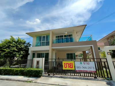 3 Bedroom Home for Sale in Sai Noi, Nonthaburi - House for sale, Nonthaburi, 79 sq m, new condition, behind the corner.