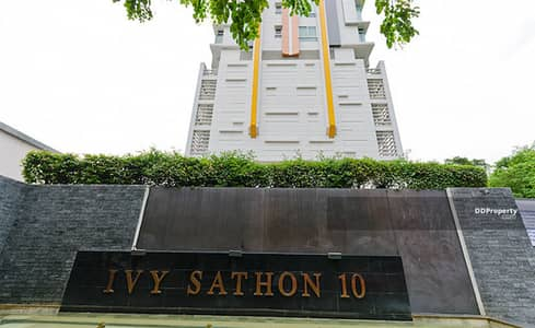 1 Bedroom Condo for Sale in Bang Rak, Bangkok - Urgent sale !! Ivy Sathorn 10 (Ivy Sathorn 10) ready to move in - near Chong Nonsi BTS / MRT Silom / BRT Sathorn Station