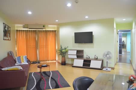 2 Bedroom Condo for Rent in Yan Nawa, Bangkok - Condo for rent, 2 bedrooms, Belle Park Residence, size 98 sqm. , 2 bedrooms, 2 bathrooms, 7th floor, 1 car park
