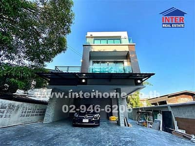 4 Bedroom Home for Rent in Dusit, Bangkok - 3-storey detached house, 63 sq m, near Paolo Hospital, Inthamara Soi 3, Phayathai Road